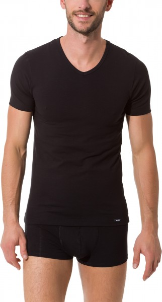 Skiny Essentials V-Neck Shirt Herren