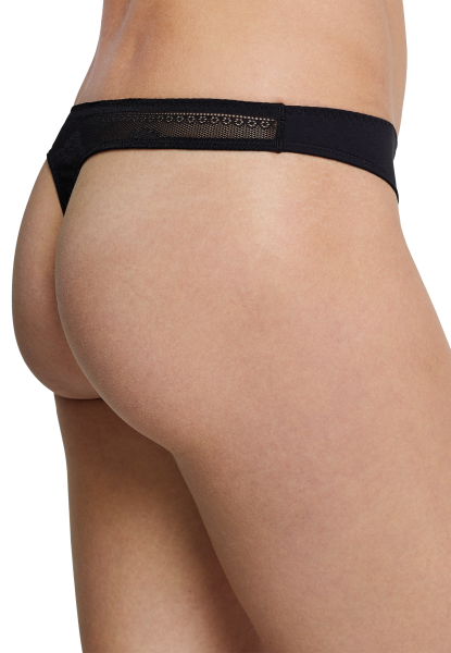 Schiesser Basic Invisible Lace Damen String